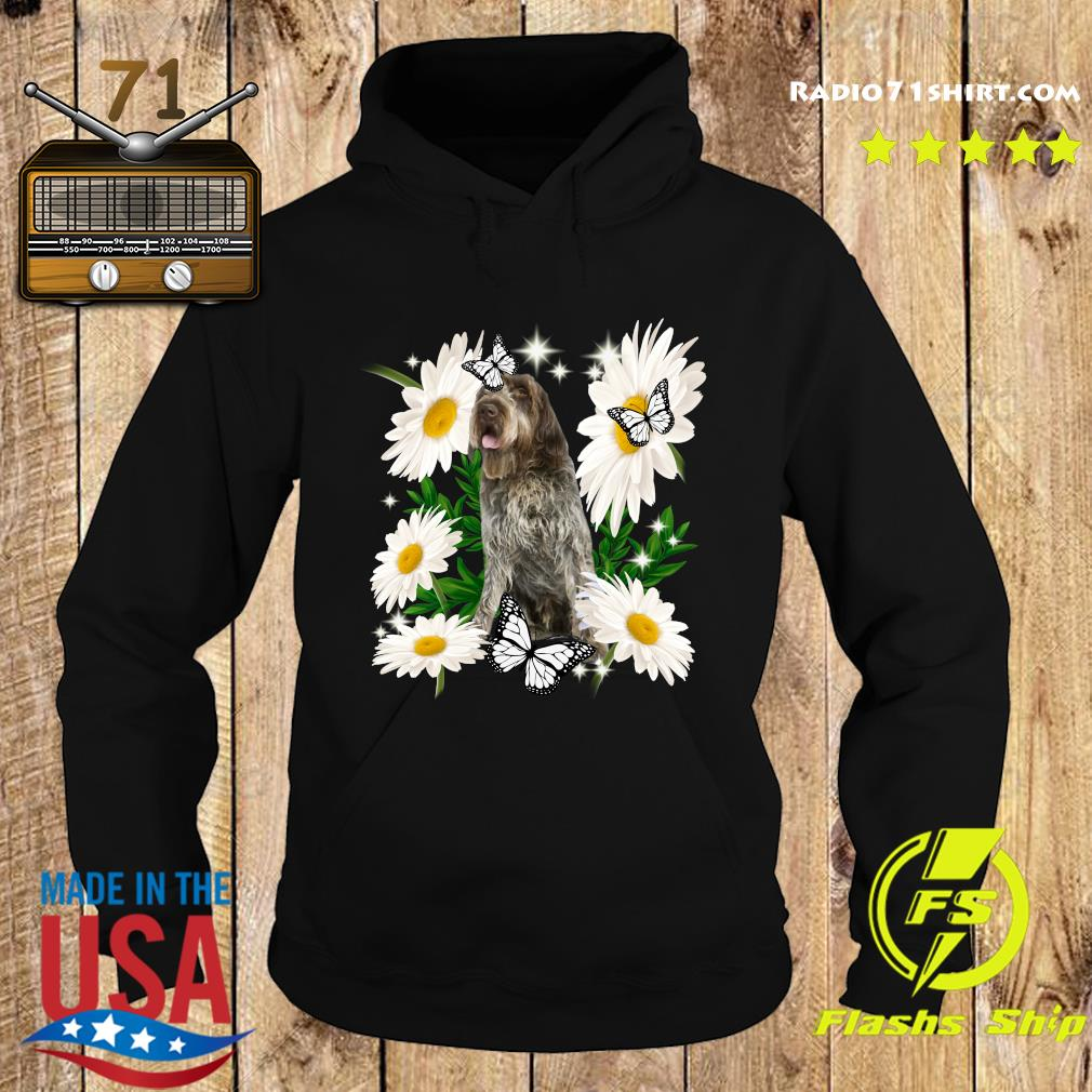 Wirehaired Pointing Griffon Daisy flower Classic T-Shirt Hoodie