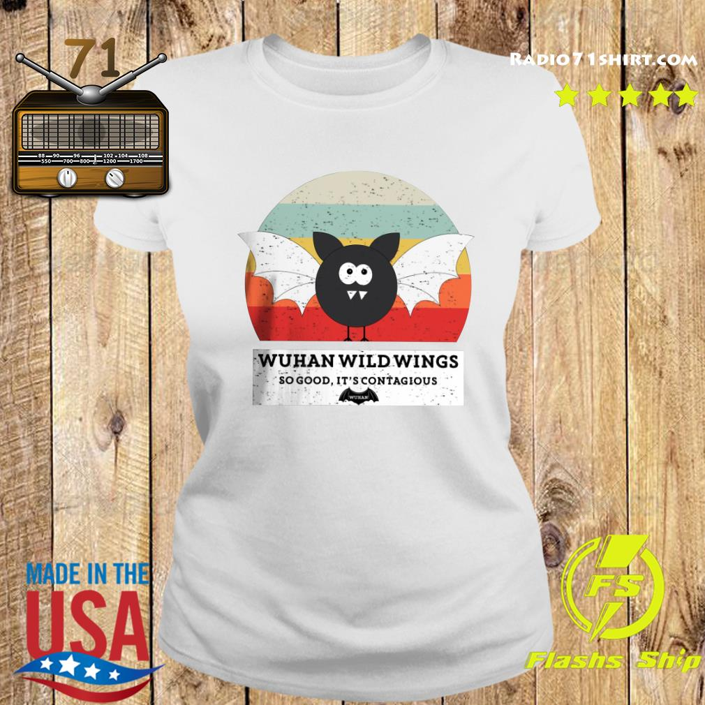 Wuhan Wild Wings So Good It's Contagious Shirt Ladies tee
