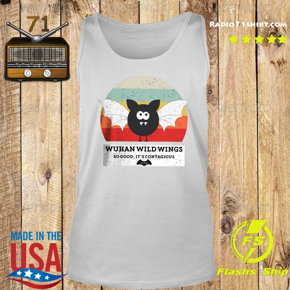 Wuhan Wild Wings So Good It's Contagious Shirt Tank top