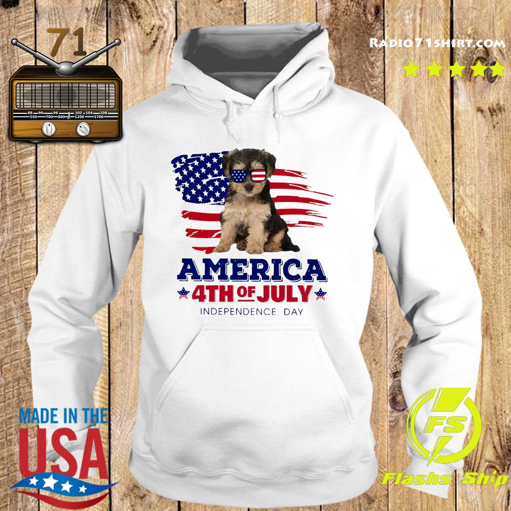 Yorkipoo America 4th Of July Independence Day Shirt Hoodie