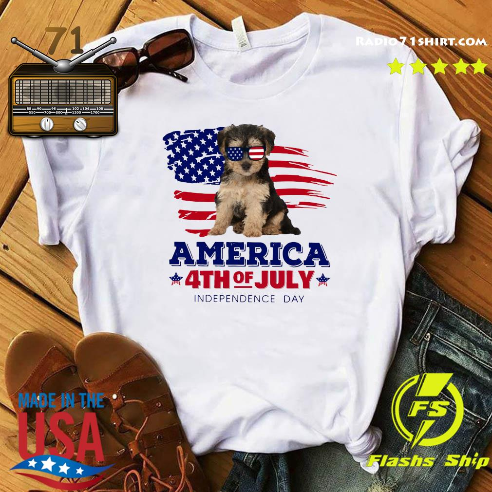 Yorkipoo America 4th Of July Independence Day Shirt
