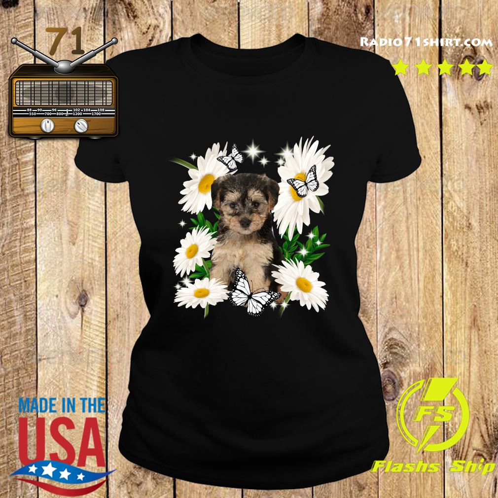 Yorkipoo Daisy flower Classic T-Shirt Ladies tee