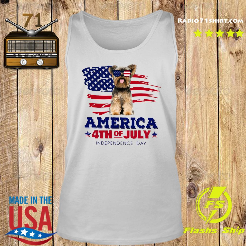 Yorkshire America 4th Of July Independence Day Shirt Tank top