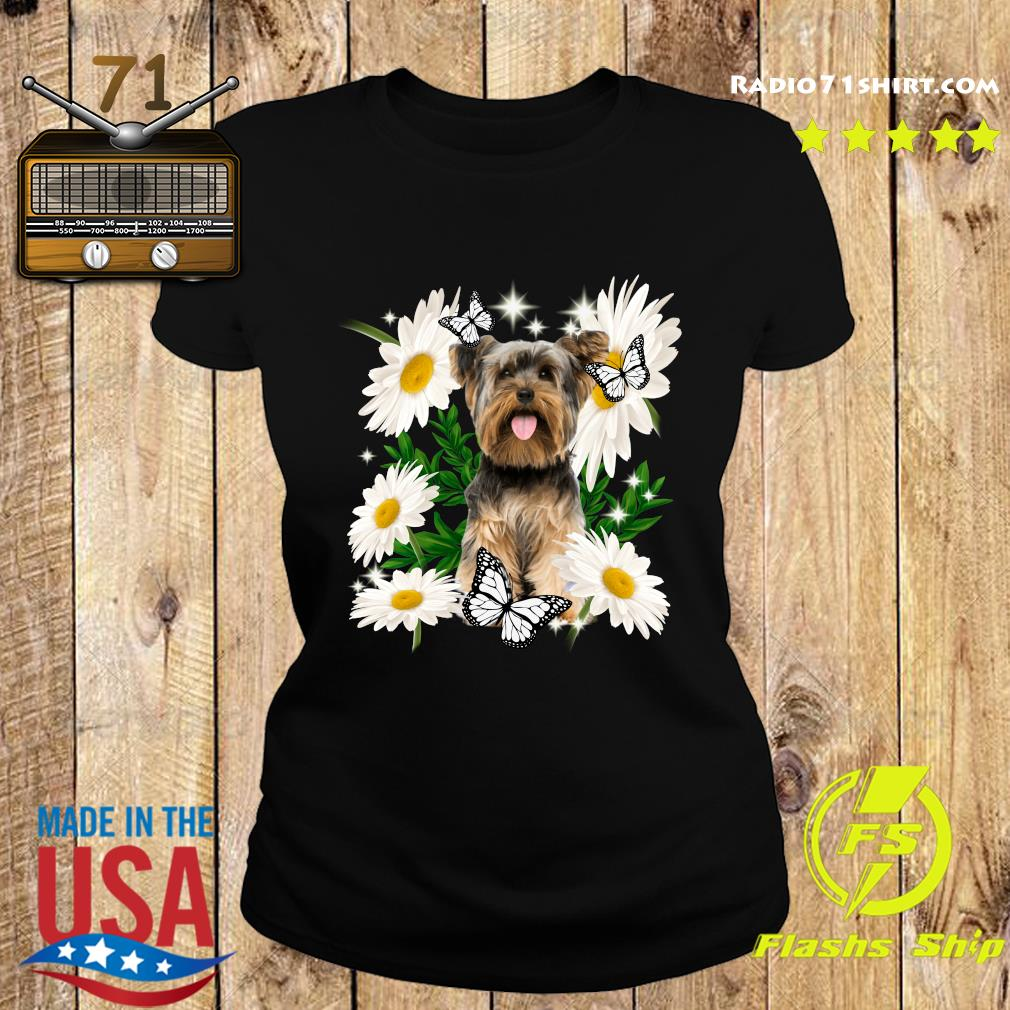 Yorkshire Daisy flower Classic T-Shirt Ladies tee