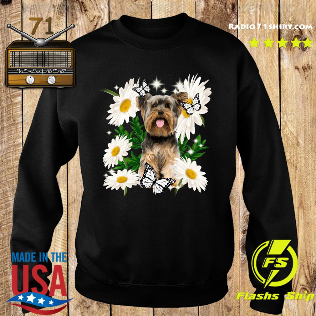 Yorkshire Daisy flower Classic T-Shirt Sweater