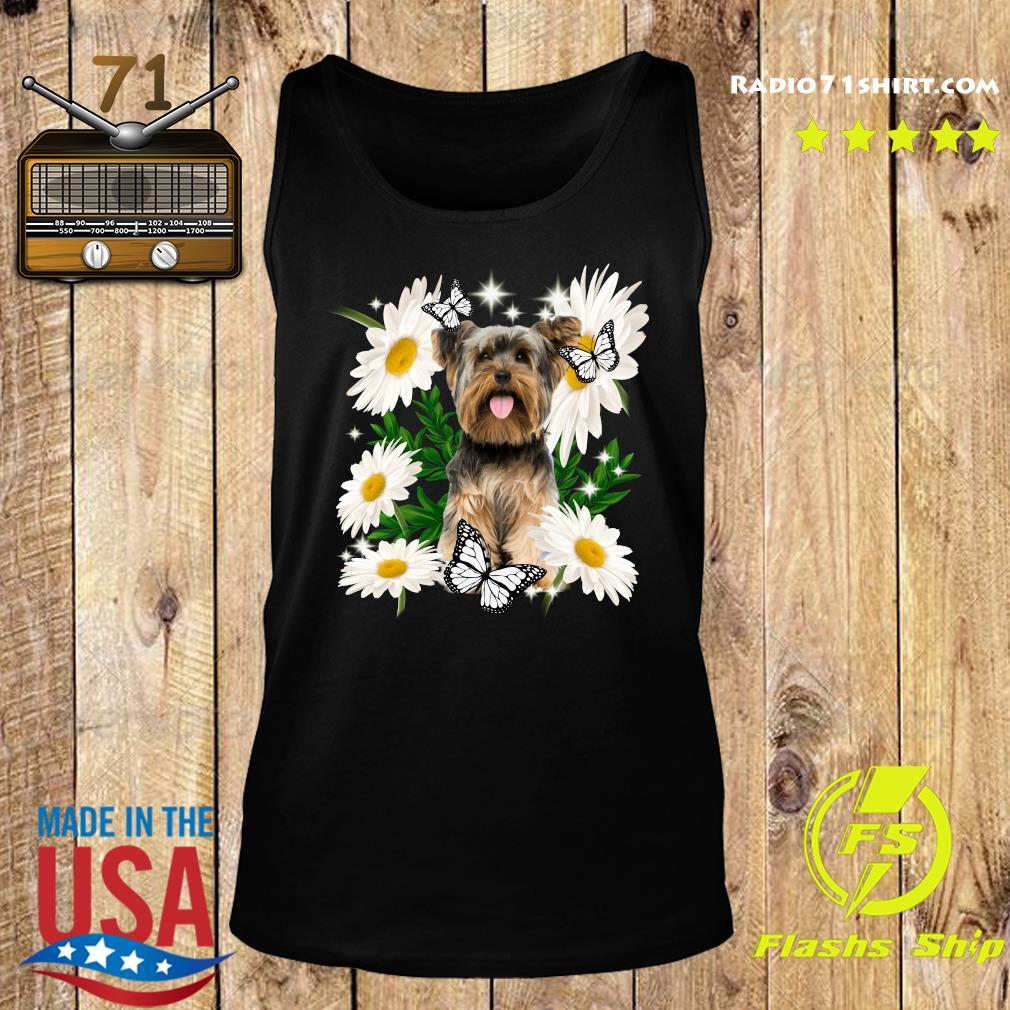 Yorkshire Daisy flower Classic T-Shirt Tank top