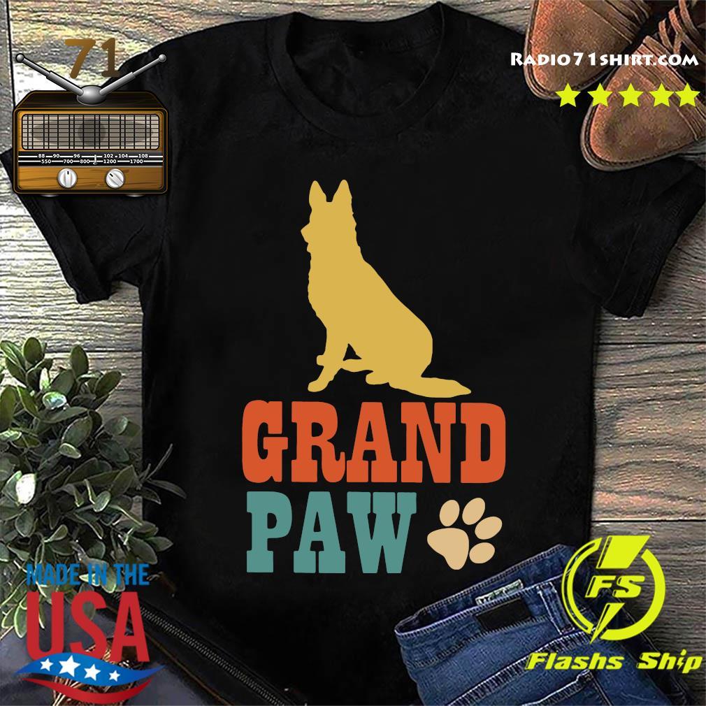 Grand Paw Dog Shirt