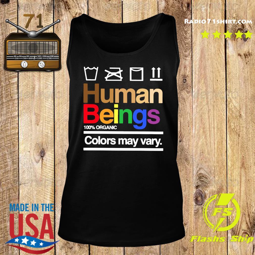 Human Beings 100 Organic Colors May Vary Shirt Tank top