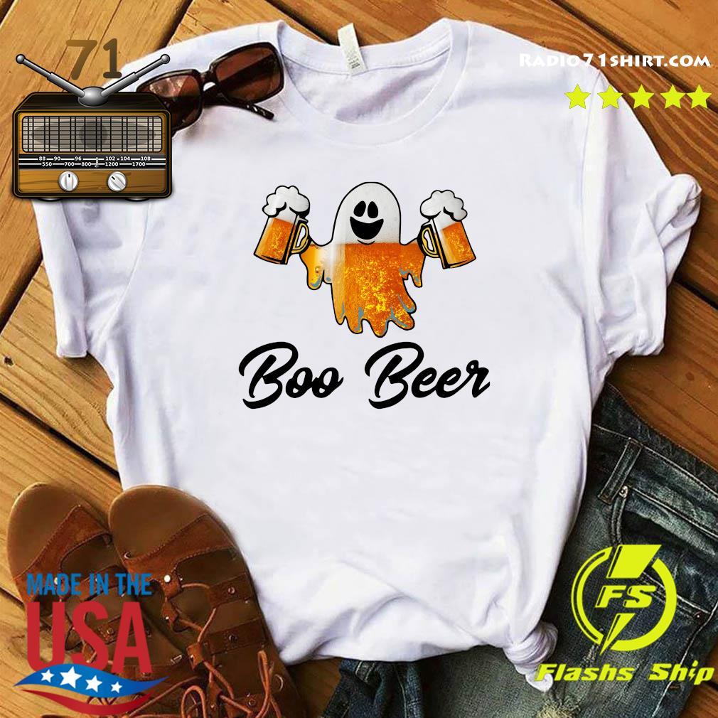 Ghost Boo Bees Halloween T-Shirt