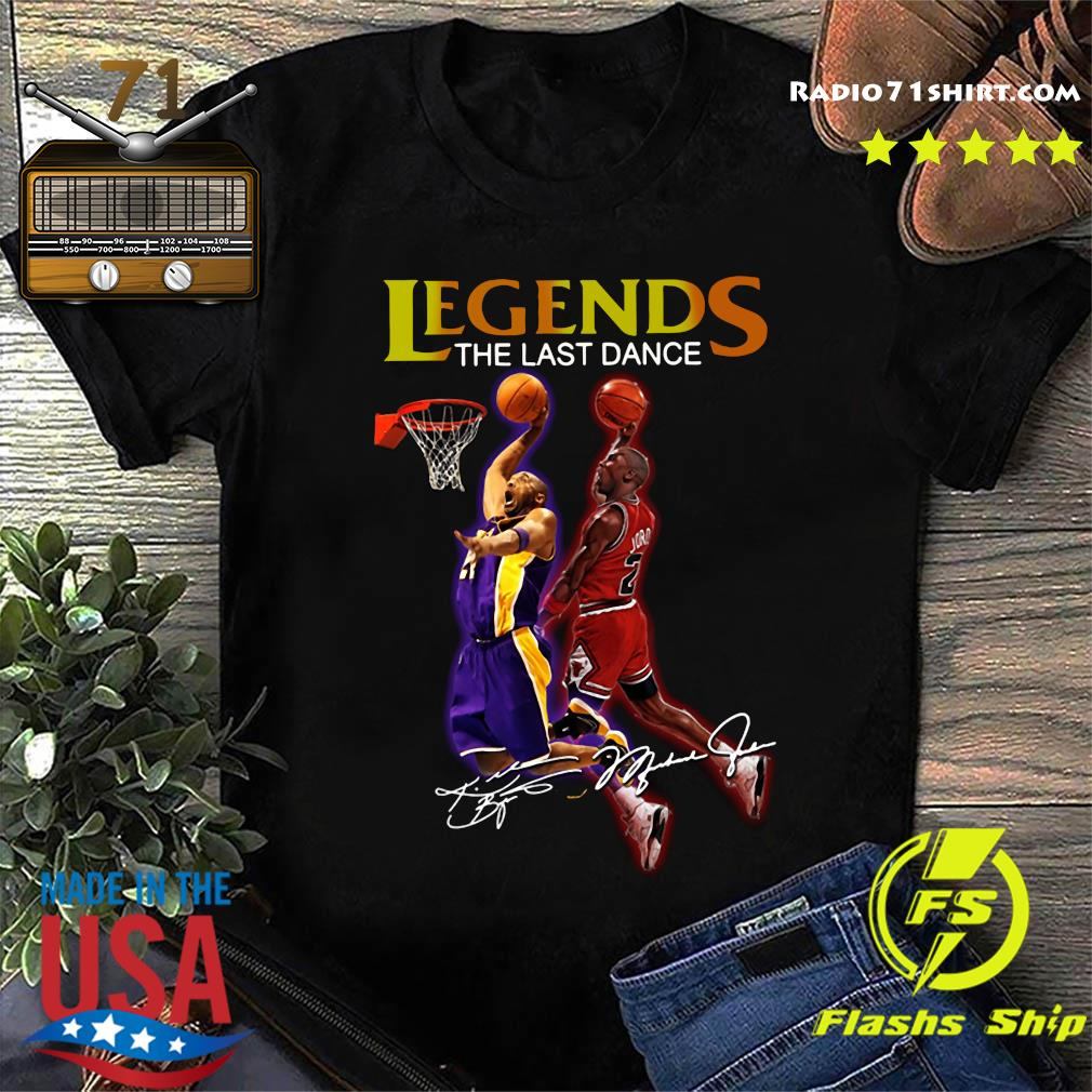 Kobe Bryant And Michael Jordan Legends The Last Dance Signature Shirt