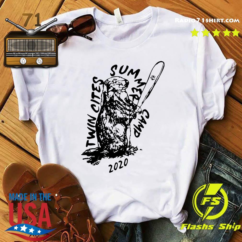 Official Twin Cities Summer Camp 2020 Minnesota Twins T-Shirt