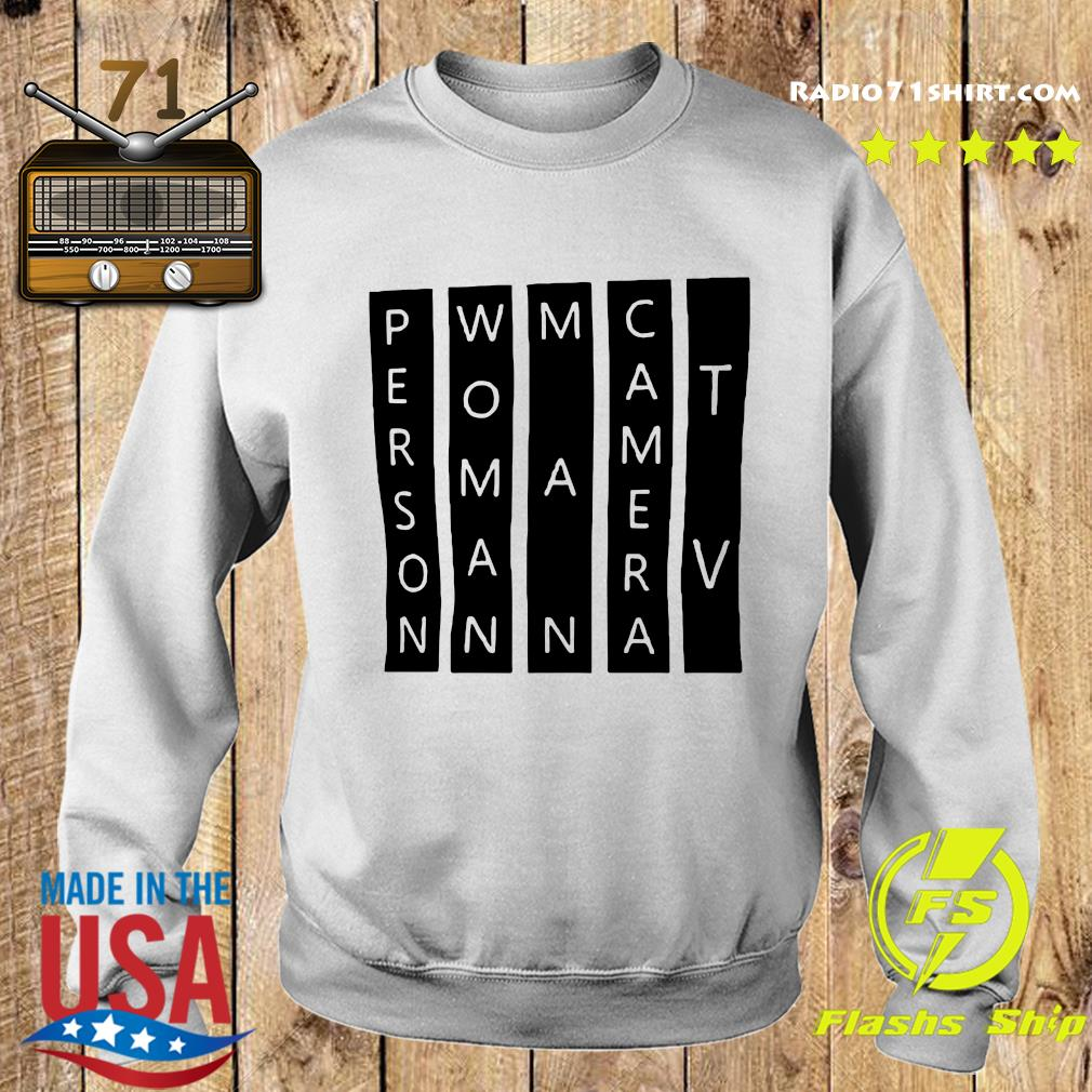 Person Woman Man Camera TV Light Color White Shirt Sweater