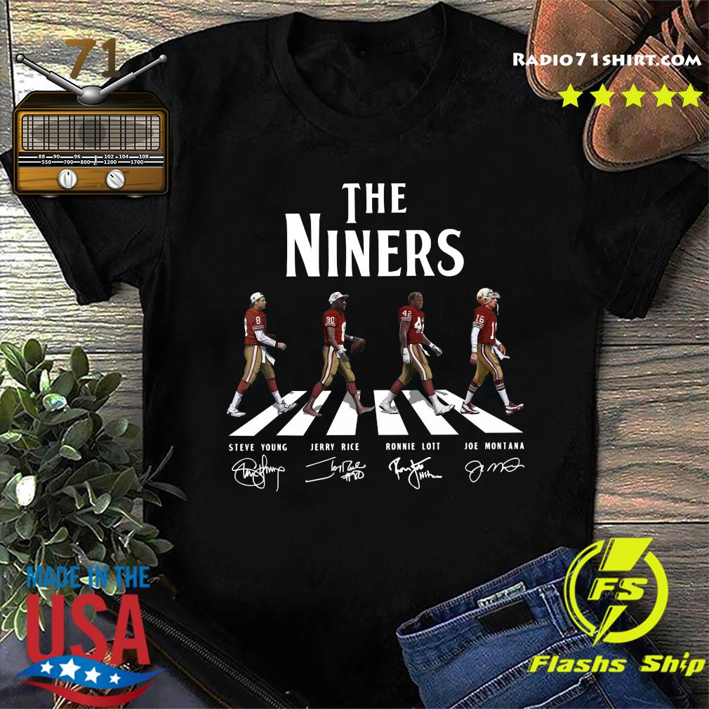 The Niners Walking Dead Signatures Shirt