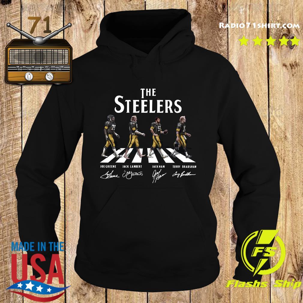 The Steelers Walking Dead Signatures Shirt Hoodie