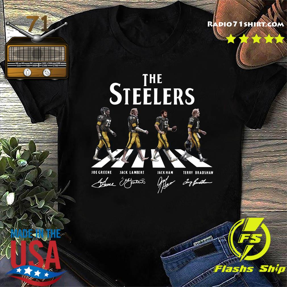 The Steelers Walking Dead Signatures Shirt