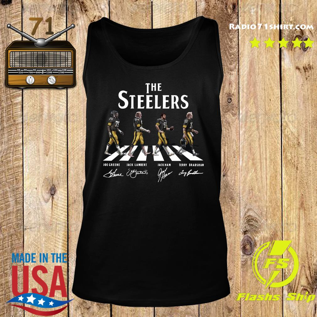 The Steelers Walking Dead Signatures Shirt Tank top