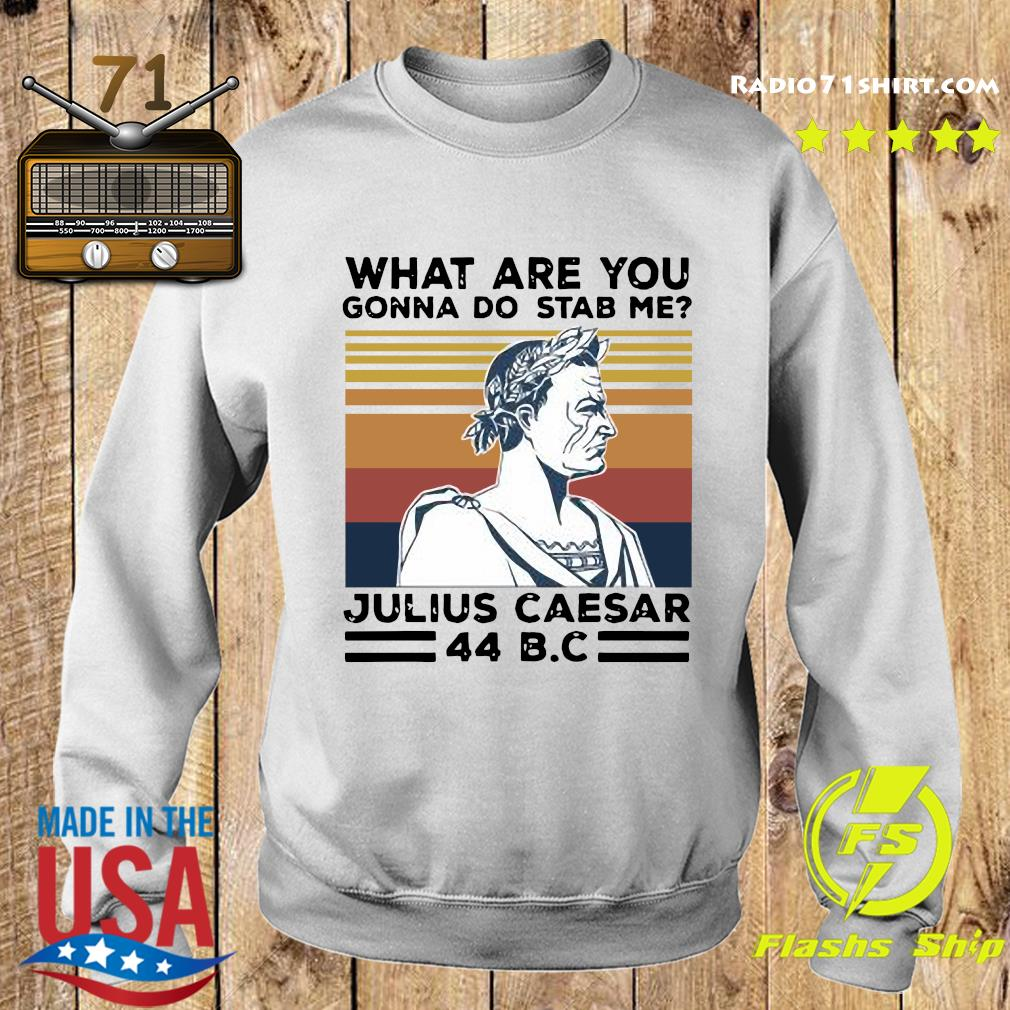 What Are You Gonna Do Stab Me Julius Caesar 44 Bc Vintage Shirt Sweater