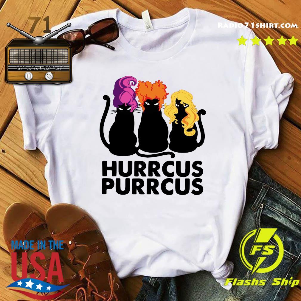 Cats Hurrcus Purrcus Shirt
