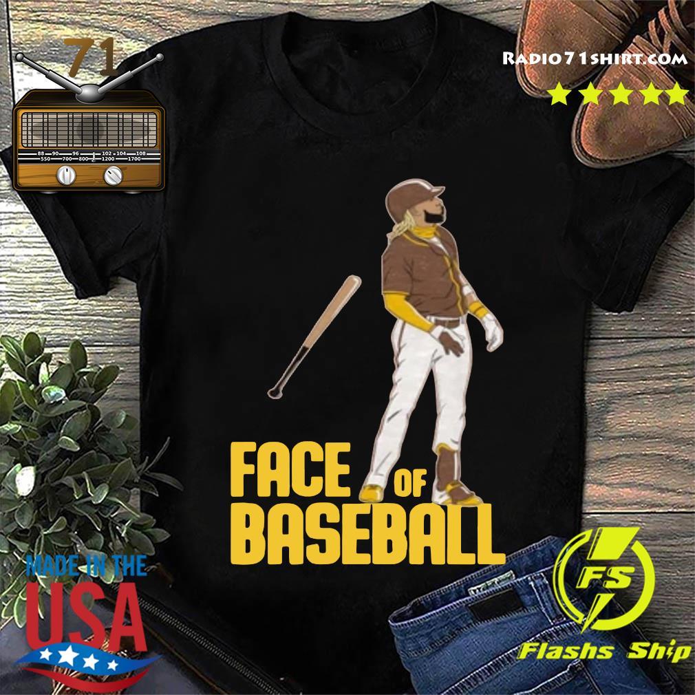 FACE OF BASEBALL SHIRT