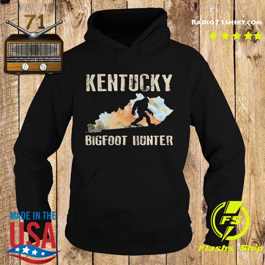Kentucky bigfoot hunter sunset s Hoodie