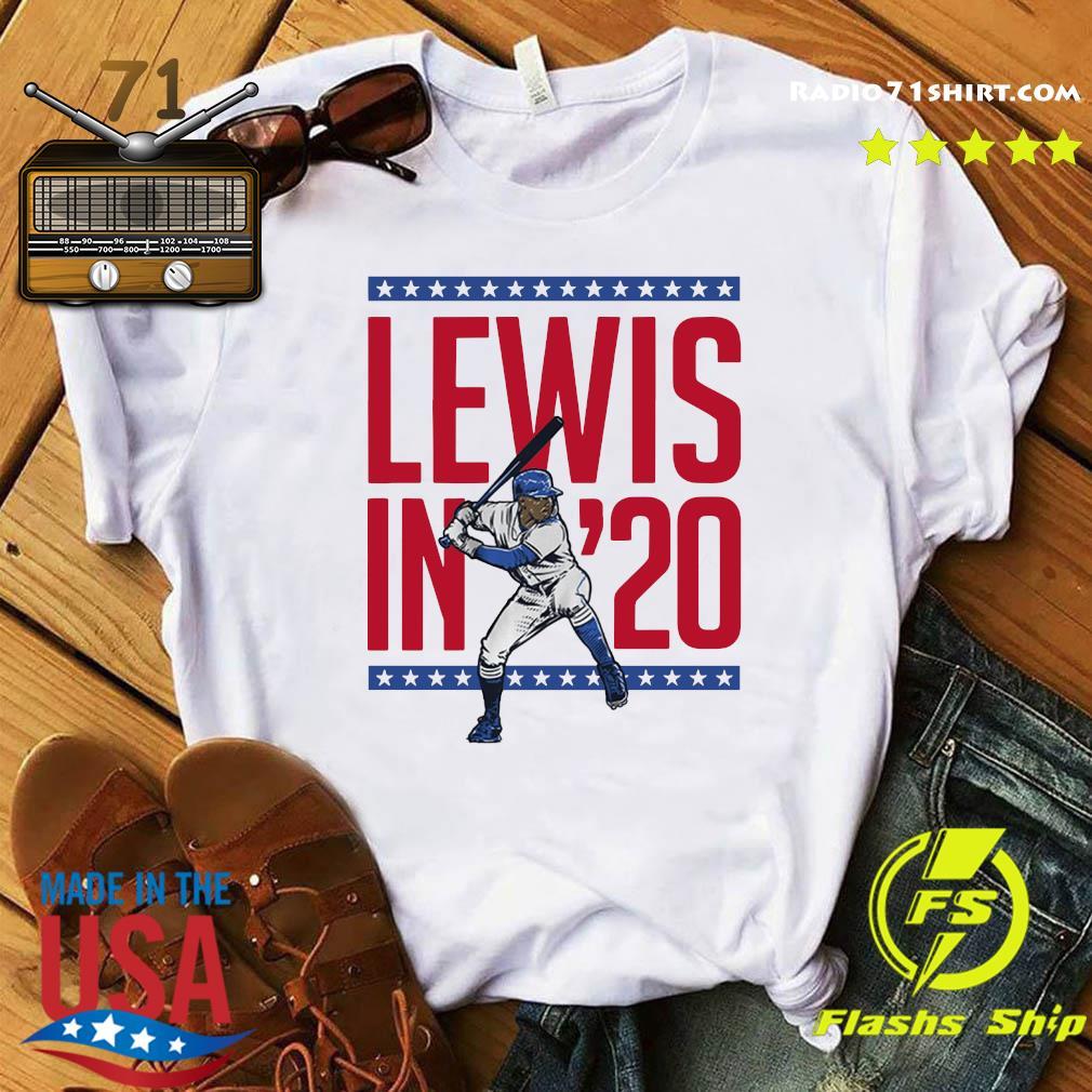 Lewis in '20 Seattle Baseball Shirt
