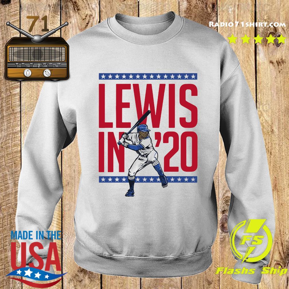 Lewis in '20 Seattle Baseball Shirt Sweater