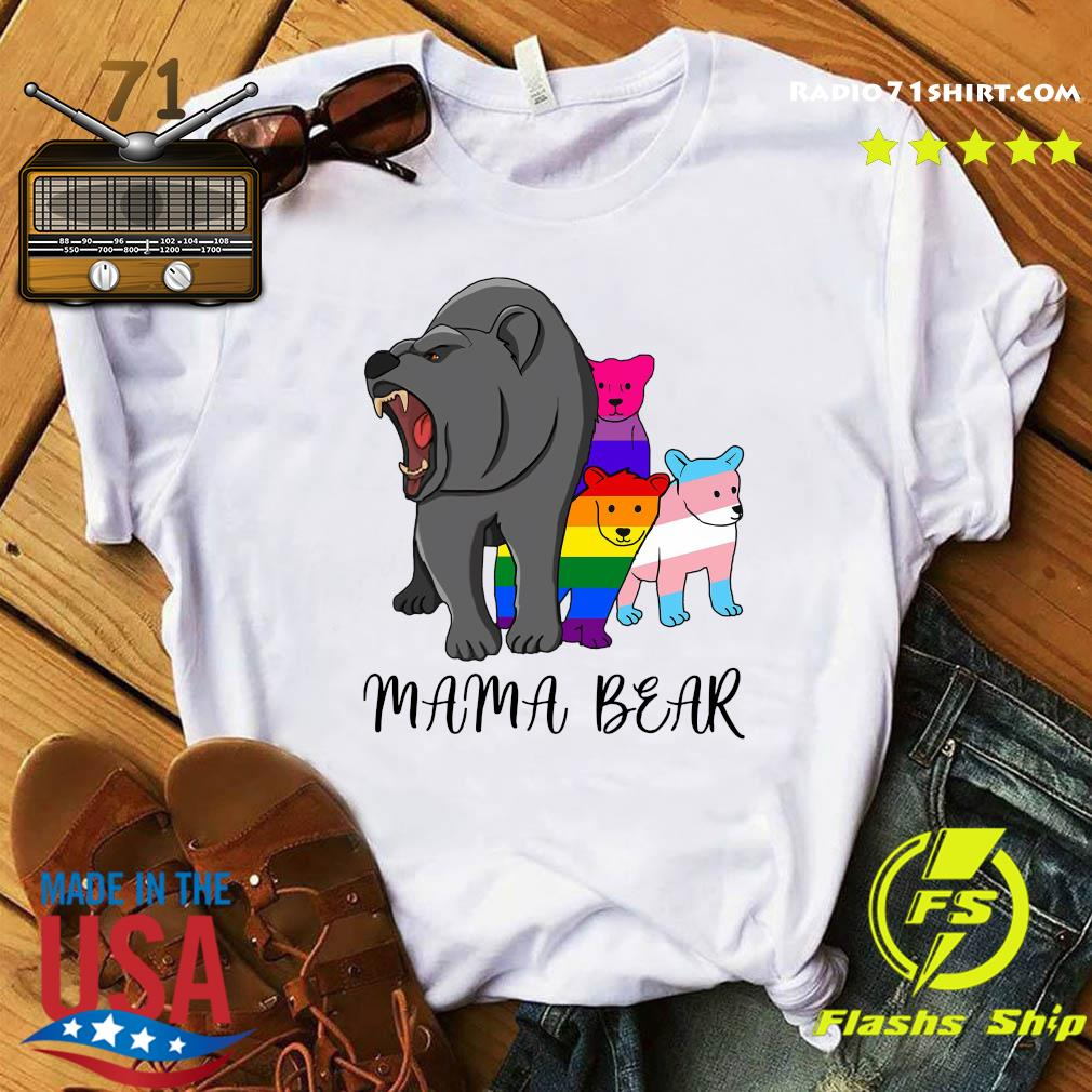 LGBT mama bear shirt