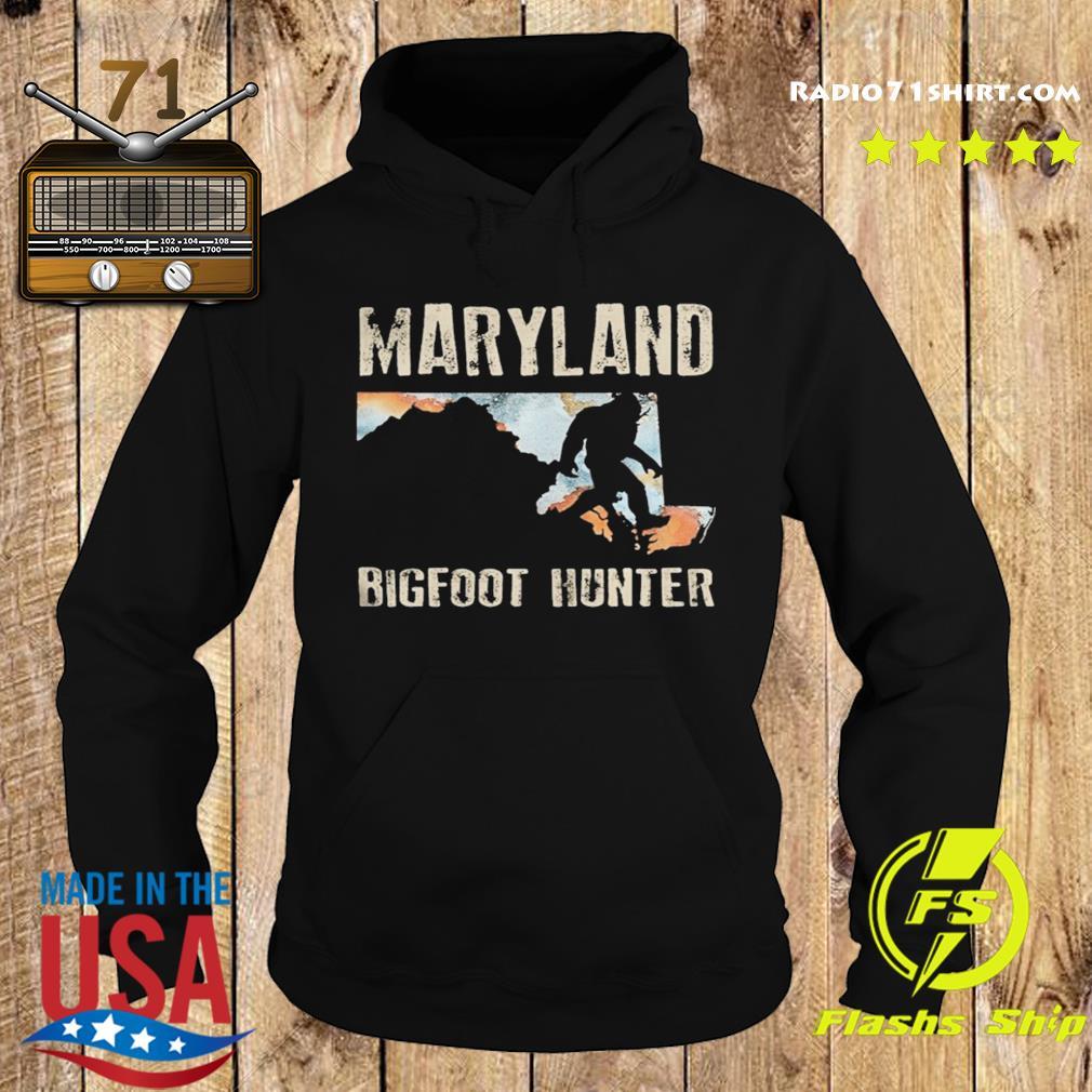 Maryland bigfoot hunter sunset s Hoodie