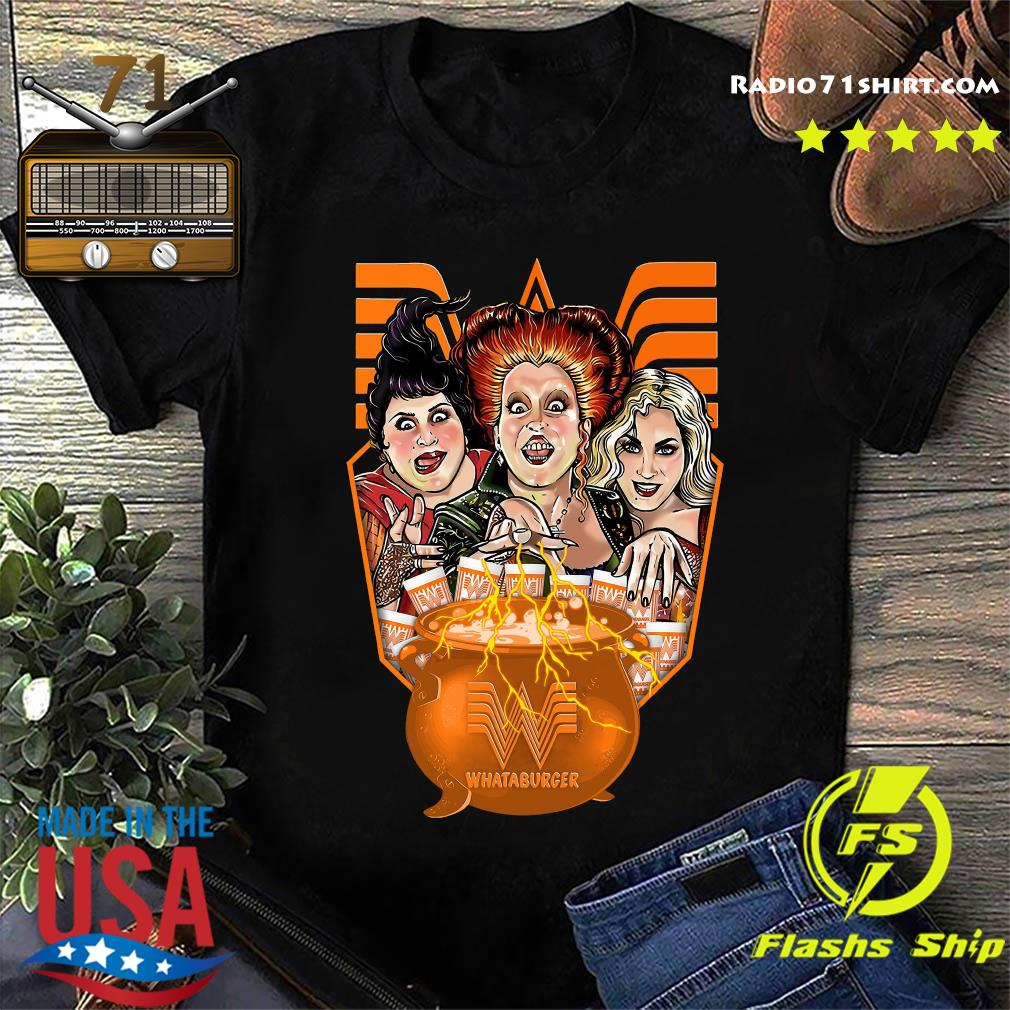 Official Hocus Pocus Whataburger Halloween Shirt