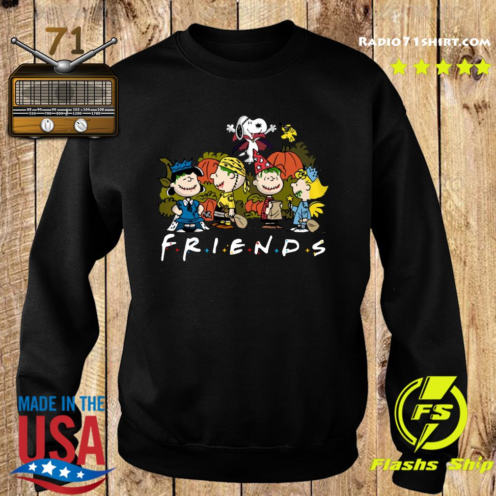 Peanut Snoopy and Charlie Brown friends halloween s Sweater