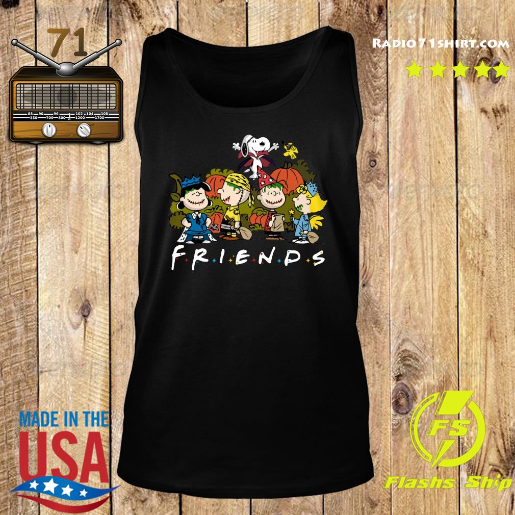 Peanut Snoopy and Charlie Brown friends halloween s Tank top