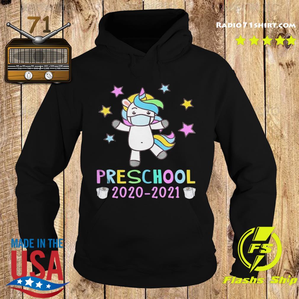 Quarantine Unicorn Hello Preschool 2020 Back To School s Hoodie