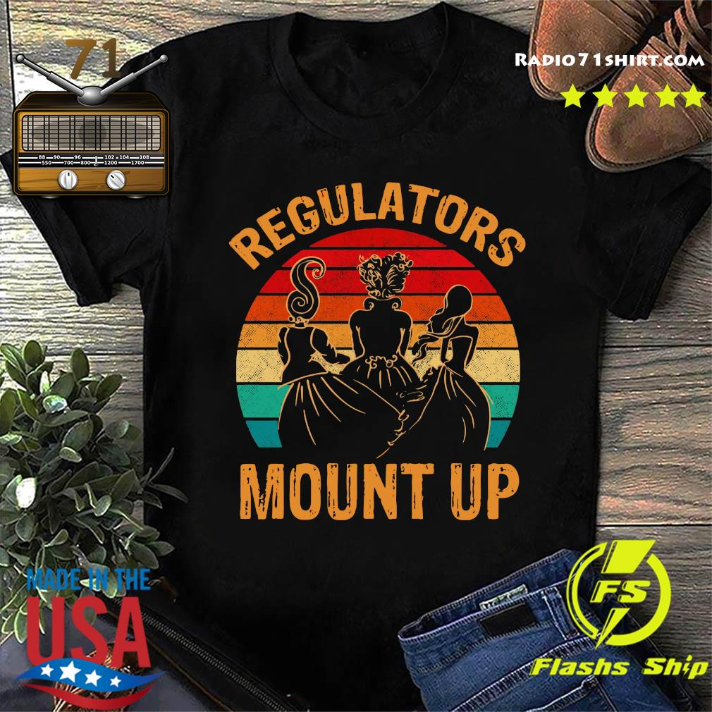 Regulators Mount Up Hocus Pocus Halloween Vintage Retro Shirt