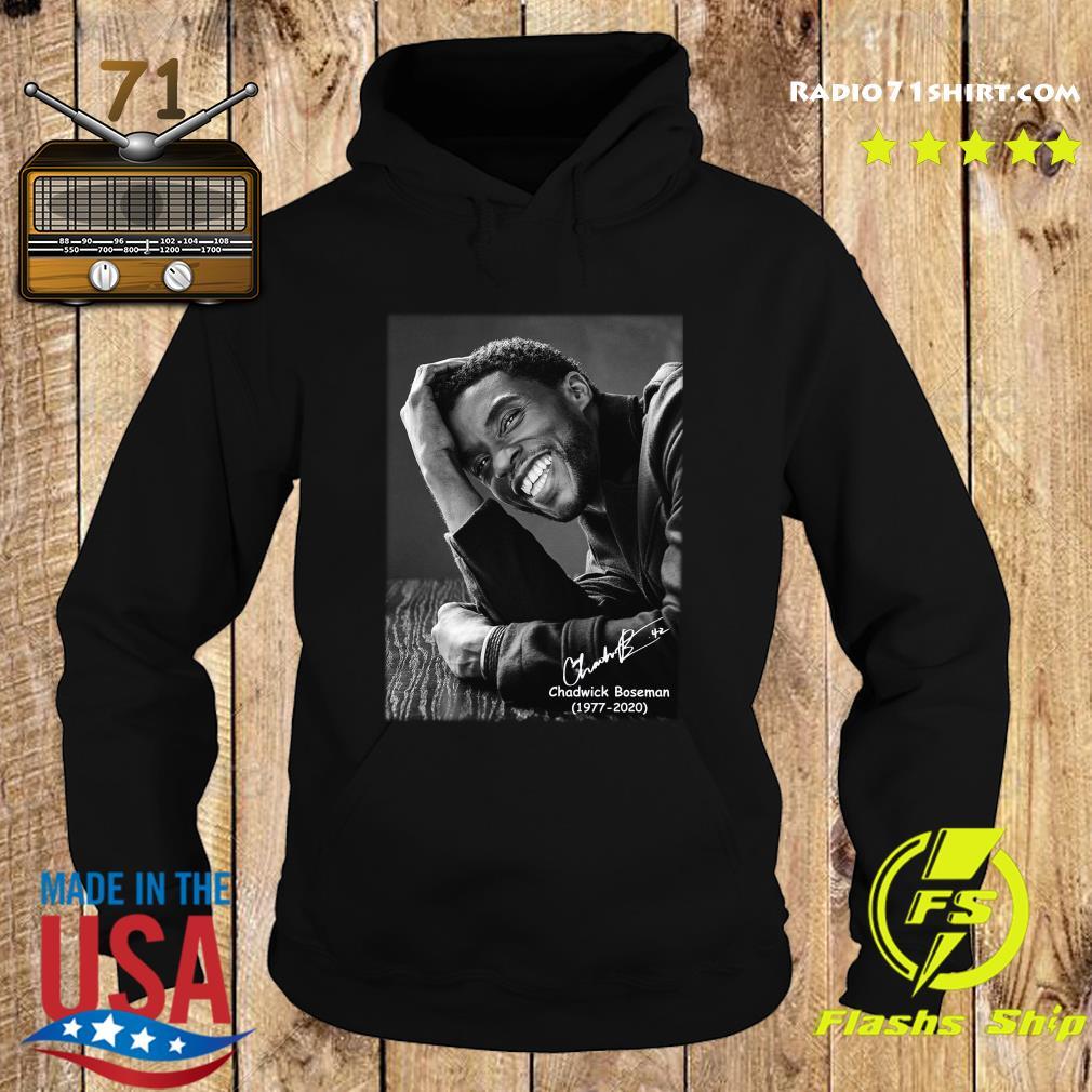 Rip Chadwick Boseman 1977 2020 Black Panther Signature Shirt Hoodie