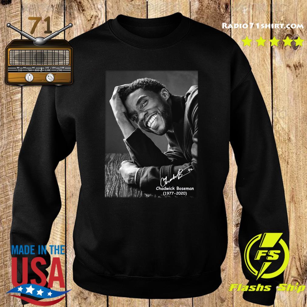 Rip Chadwick Boseman 1977 2020 Black Panther Signature Shirt Sweater