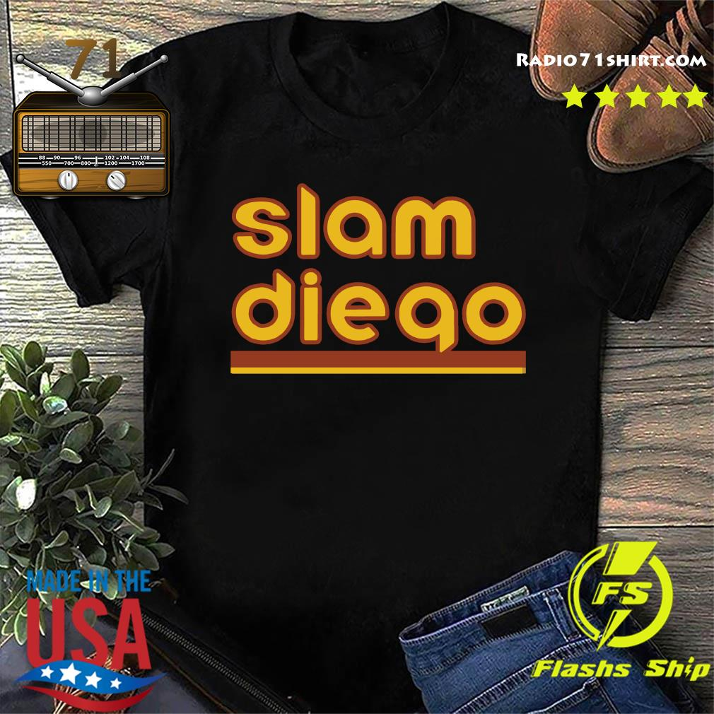 Slam Diego Fernando Tatis Jr San Diego Baseball Shirt