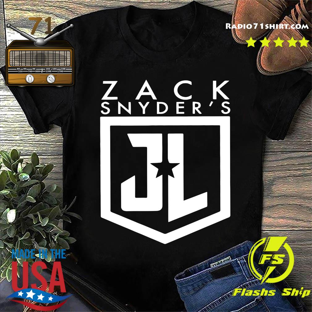 Zack snyder justice league shirt