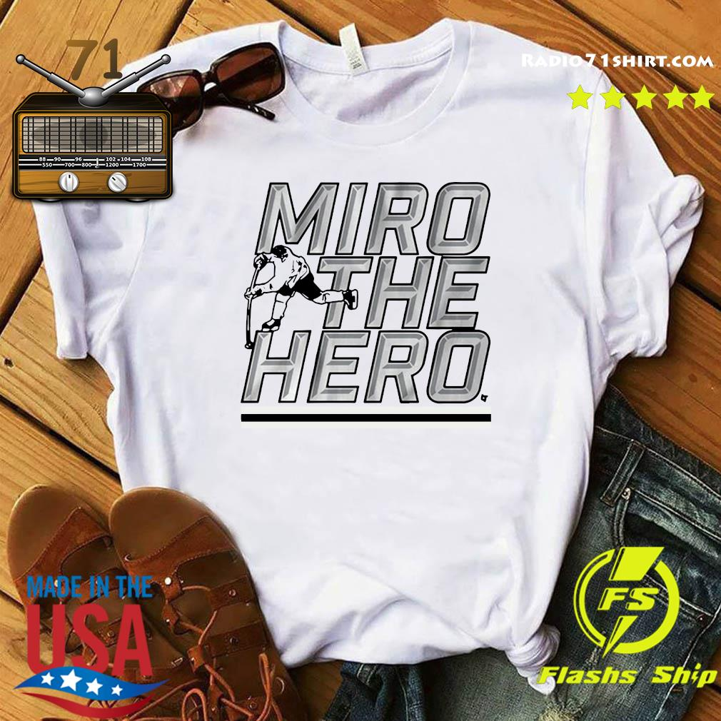 Miro the Hero Dallas Hockey Shirt