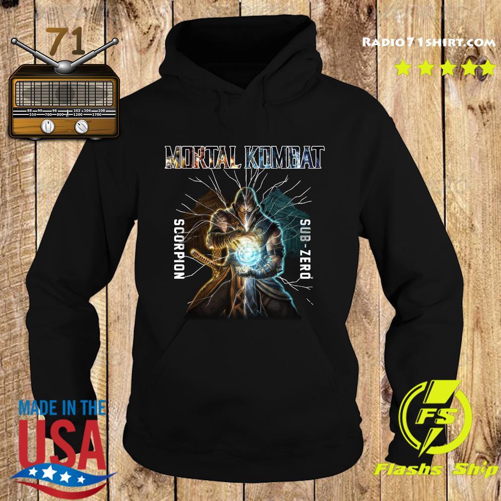 Mortal Kombat Scorpion Sub Zero Shirt Hoodie
