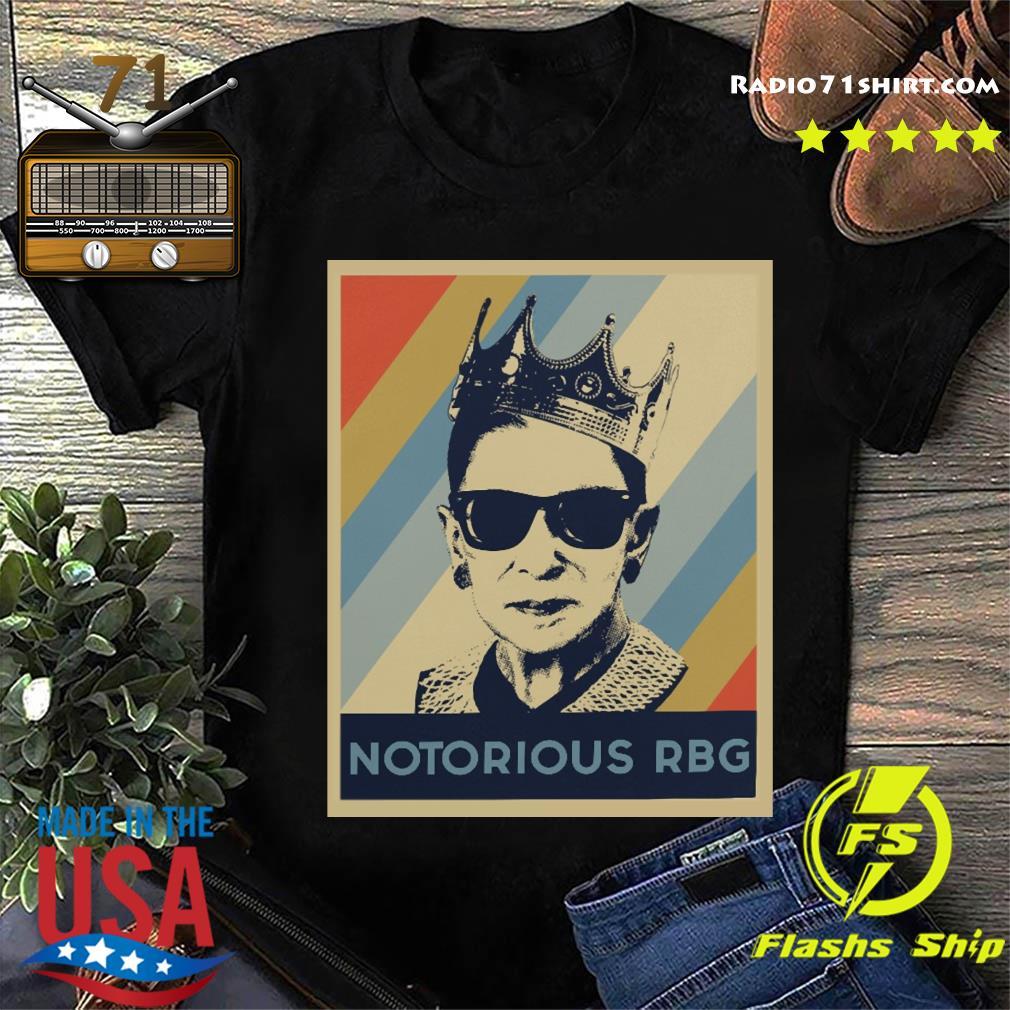 Notorious RBG Crown Vintage Shirt