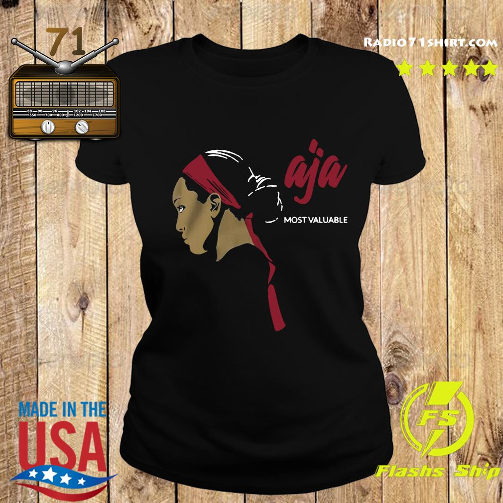Official Most Valuable A'ja Shirt Ladies tee