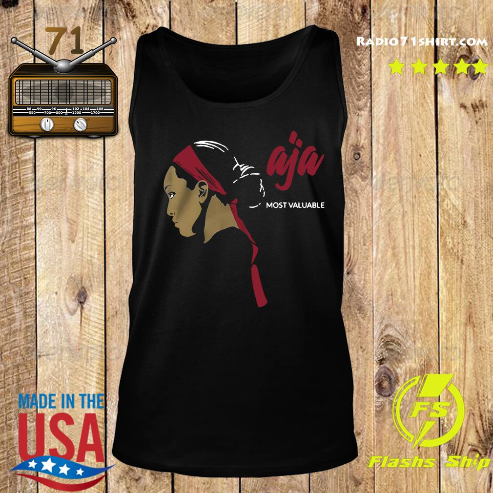 Official Most Valuable A'ja Shirt Tank top