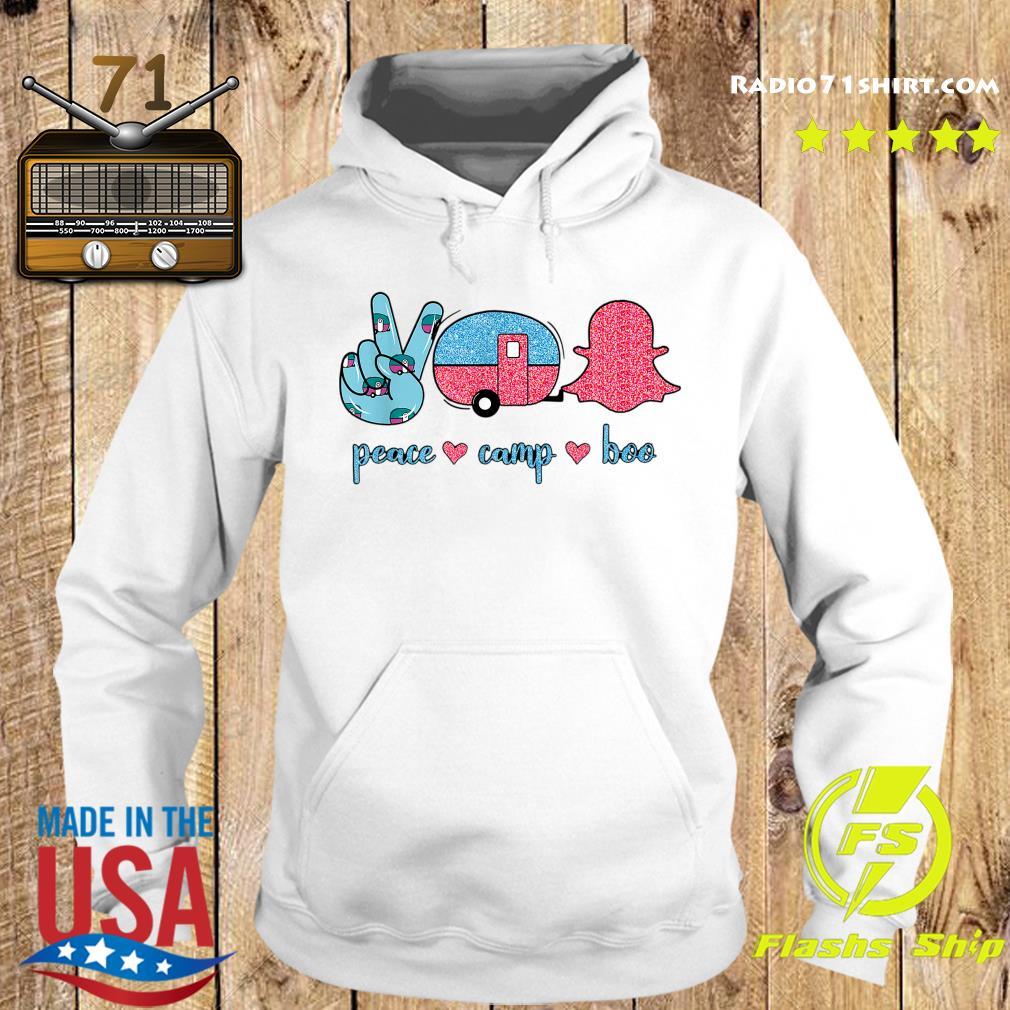 Peace Camp Boo Shirt Hoodie