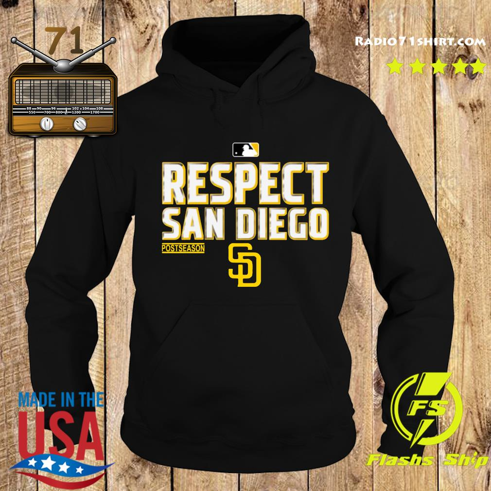 Respect San Diego Padres Shirt Hoodie