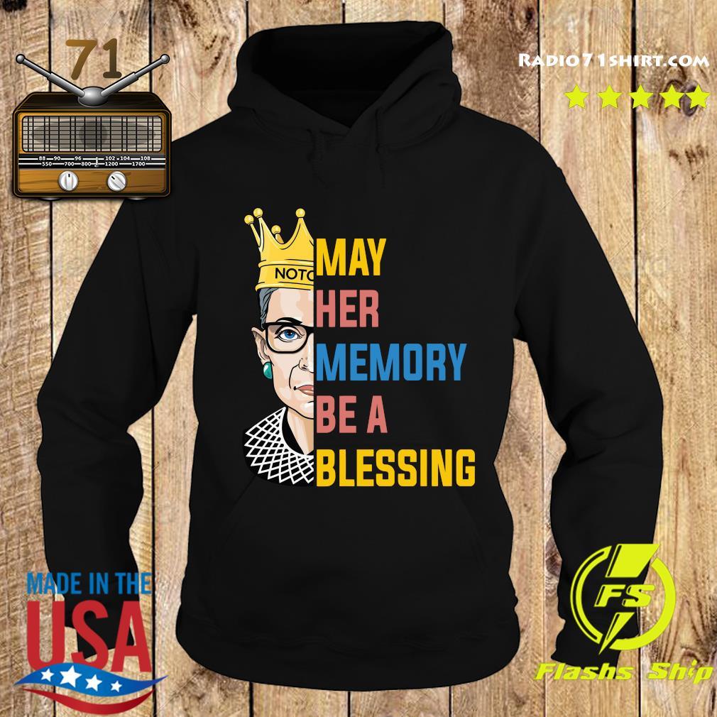 Ruth Bader Ginsburg RBG May Her Memory Be A Blessing Shirt Hoodie