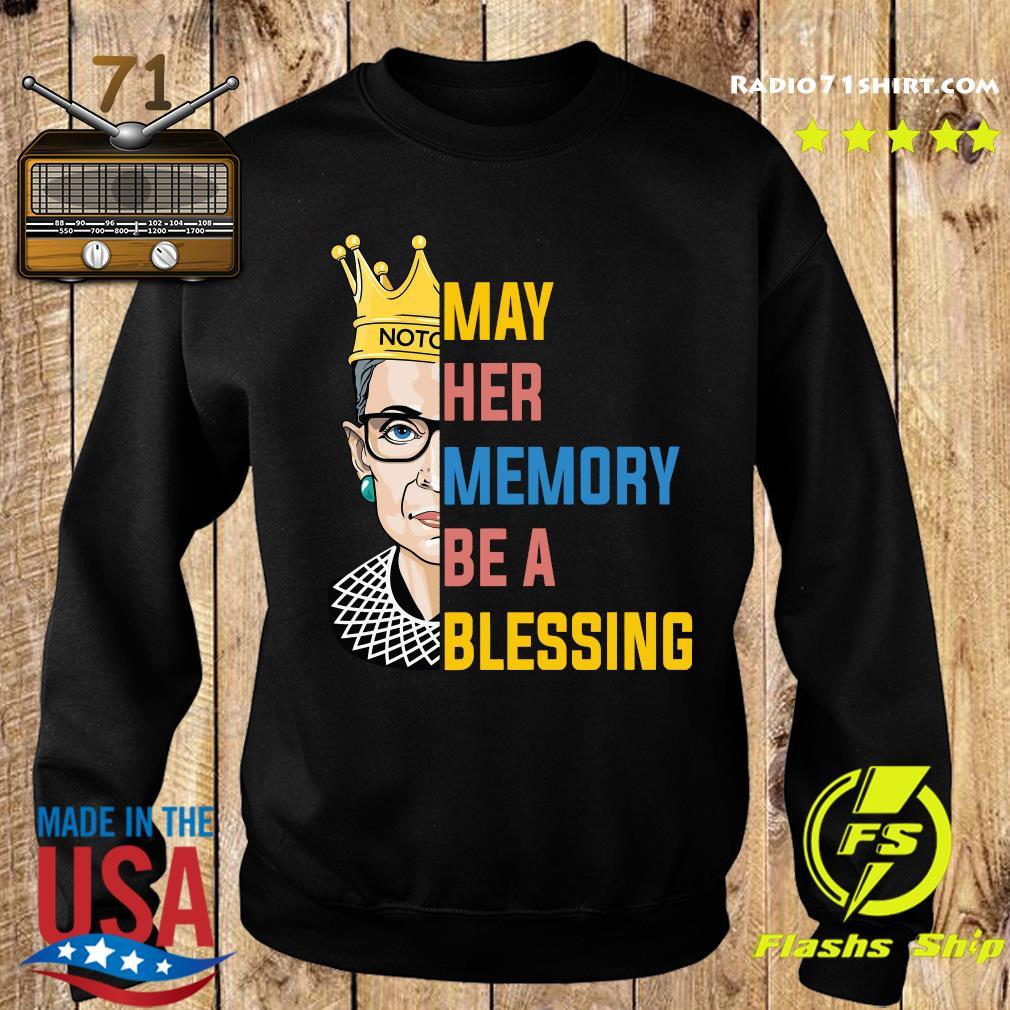 Ruth Bader Ginsburg RBG May Her Memory Be A Blessing Shirt Sweater