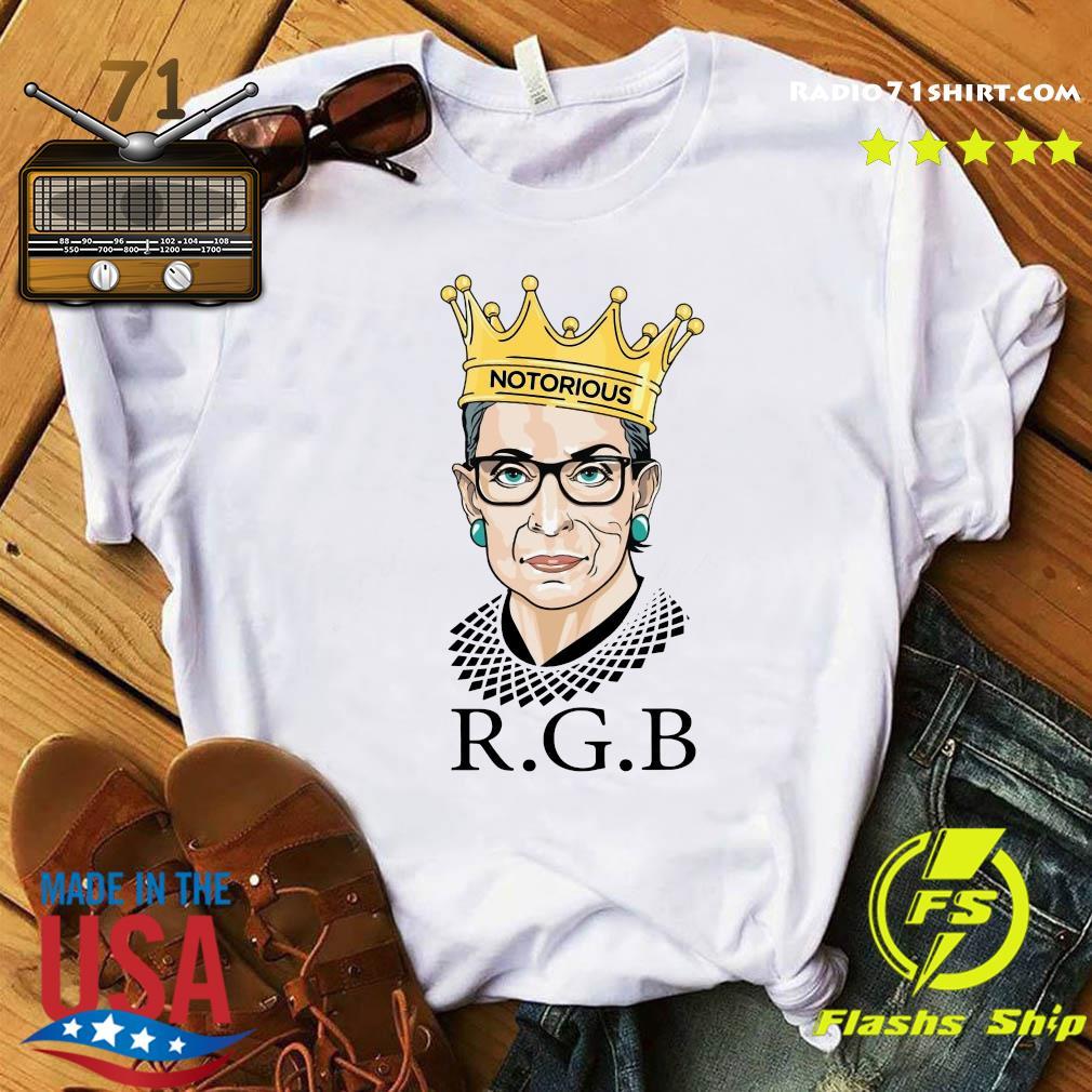Ruth Bader Ginsburg RBG Notorious Shirt