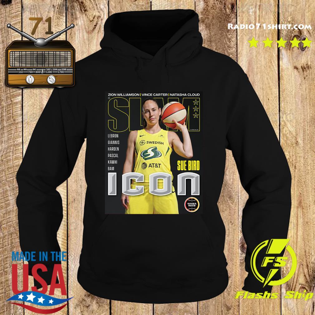 SLAM Official Sue Bird Shirt Hoodie