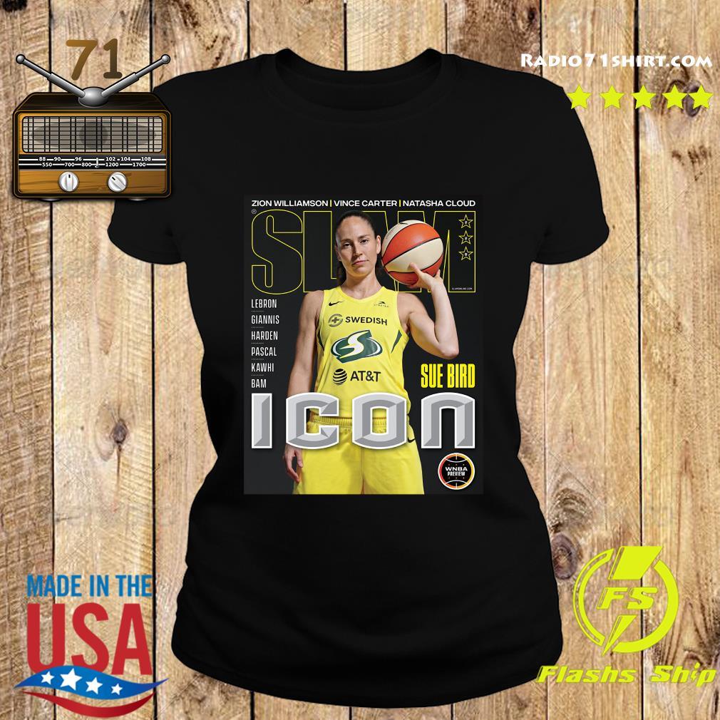 SLAM Official Sue Bird Shirt Ladies tee