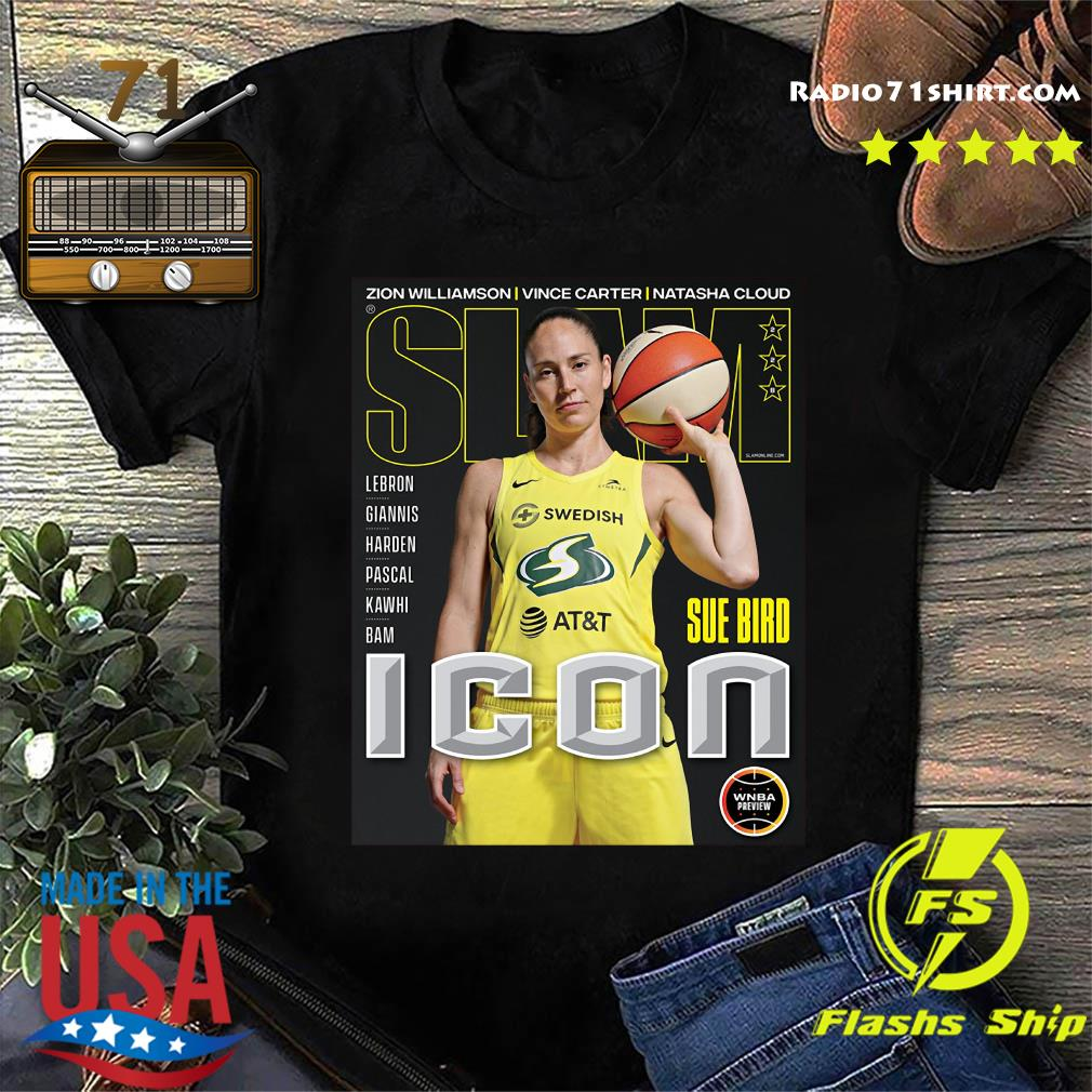 SLAM Official Sue Bird Shirt